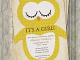 Vintage Owl Baby Shower Invitations Owl Baby Shower Invitations Vintage Feel Printable File
