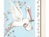 Vintage Stork Baby Shower Invitations Teal Blue Vintage Stork Baby Shower Invitation