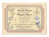 Vintage Style Bridal Shower Invitations Vintage Style Bridal Lingerie Shower Invitation