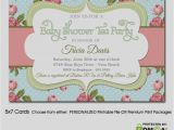 Vintage Tea Party Baby Shower Invites Inspirational Vintage Tea Party Baby Shower Invitations