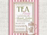 Vintage Tea Party Invitations Free 75 Best Invitations Images On Pinterest