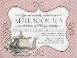Vintage Tea Party Invitations Free Printable Victorian Tea Party Invitation