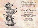Vintage Tea Party Invitations Free Vintage Tea Party Bridal Shower Invitation Vintage Diy