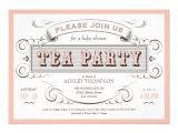 """Vintage Tea Party Invitations Free Vintage Tea Party Invitations 5"""" X 7"""" Invitation Card"""