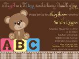 Vintage Teddy Bear Baby Shower Invitations Design Vintage Teddy Bear Baby Shower Invitations Teddy
