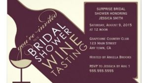 Vintage themed Bridal Shower Invitations Vintage Wine themed Bridal Shower Invitations