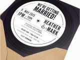 Vinyl Record Party Invitation Record Wedding Invitations Yourweek Eab3e9eca25e
