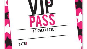 Vip Party Invitations Template 32 Best Vip Ticket Pass Template Designs for Your events