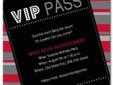 Vip Party Invitations Template Drew 39 S Blog