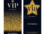 Vip Party Invitations Template Vip Invitation Card Premium Design Template Stock Vector