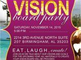 Vision Board Party Invitation Adrienne Nixon S Vision Board Party