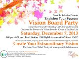 Vision Board Party Invitation Envision Your Success Vision Board Party Tickets Sat
