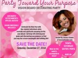Vision Board Party Invitation Vision Board and Quotes Quotesgram