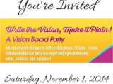 Vision Board Party Invitation Wording 9 Best Write the Vision Vision Board Ideas Images On