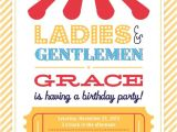 Vista Print Birthday Party Invitations Circus Birthday Party Invitation Vistaprint Circus