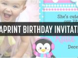 Vista Print Birthday Party Invitations Vistaprint Birthday Party Invites Samples Coupon