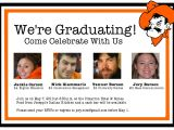 Vistaprint Graduation Party Invitations Dual Graduation Party Invitations Invitation Librarry