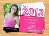 Walgreens Graduation Party Invitations Class Of 2014 Graduation Invitation Card by