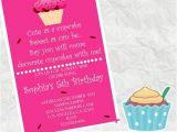Walgreens Photo Birthday Invitations Cute as A Cupcake Birthday Invitation 4×6 Walgreens Picture