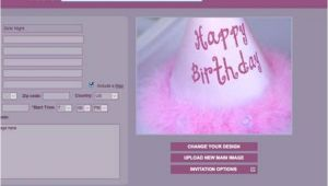 Websites to Make Birthday Invitations for Free Birthday Invitation Websites Free Bes with Framed