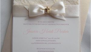 Wedding and Baptism Invitation Baptism Invitation Christening Invitation Wedding by
