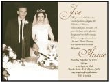 Wedding Anniversary Invitation Templates Golden Wedding Anniversary Invitation Golden Wedding