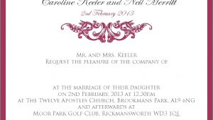 Wedding Dinner Invitation Text Message 5 formal Dinner Invitation Wording Examples