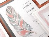 Wedding Invitation Catalogs Feather Plantable Wedding Invitation Plantable Wedding