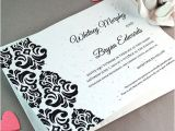 Wedding Invitation Catalogs Plantable Classic Damask Wedding Invitation Plantable