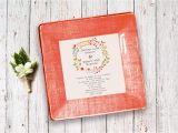 Wedding Invitation Decoupage Tray Wedding Invitation Tray Couples Gift Wedding Plate
