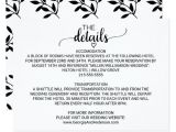 Wedding Invitation Details Card Wording Wedding Invitation Details Wording Wedding Gallery