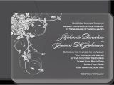 Wedding Invitation Engraved On Glass Acrylic Wedding Invitations Accessories Custom