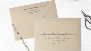Wedding Invitation Envelope Address Template Printable Envelope Address Template Wedding Envelope