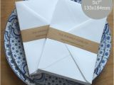 Wedding Invitation Envelopes 5×7 50 A7 Envelopes 5×7 Envelopes White Invitation Envelopes