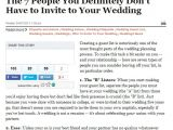 Wedding Invitation Etiquette Guest Invitation Etiquette Your Ideal Guest List In Michigan