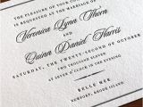 Wedding Invitation Language formal Wedding Invitation Wording formal Pt 3 Letterpress