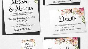 Wedding Invitation Layout Sample 16 Printable Wedding Invitation Templates You Can Diy