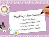 Wedding Invitation Maker with Photo How to Create Wedding Invitation Card with Amoyshare Pcm