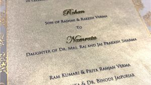 Wedding Invitation Name format Indian Wedding Invitation Wording In English What to Say