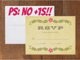 Wedding Invitation No Plus One How to Tell Your Guests they Don 39 T Get A 1 Offbeatbride