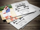 Wedding Invitation Postcards Templates Elegant Wedding Invitation Postcard Invitation Templates