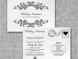 Wedding Invitation Postcards Templates Personalised Postcard Wedding Invitation by Intwine