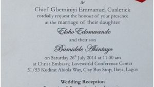 Wedding Invitation Samples Nigeria Wedding Invitation Cards In Nigeria Sunshinebizsolutions Com