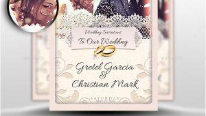 Wedding Invitation Template Adobe Photoshop 37 Awesome Psd Indesign Wedding Invitation Template