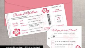 Wedding Invitation Template Boarding Pass 29 Boarding Pass Invitation Templates Psd Ai Vector