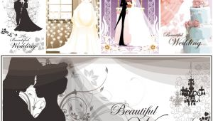 Wedding Invitation Template Bride and Groom Wedding Vector Graphics Blog Page 9