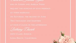 Wedding Invitation Template Deceased Parent Deceased Parent Wedding Invitation Wording Invitations