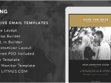 Wedding Invitation Template Email top 10 Responsive Email Templates for Business Enhancement