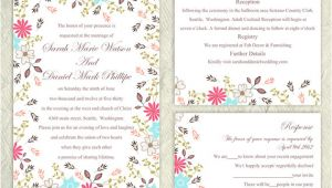 Wedding Invitation Template Etsy 13 Etsy Wedding Invite Templates Weddingmix