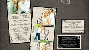 Wedding Invitation Template for Photoshop Wedding Invitation Template Photographers and Photoshop